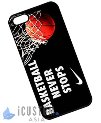 info for a3ead 642d2 NIKE Basketball Never Stops iPhone 5 and 5S case | Custom Case Indonesia
