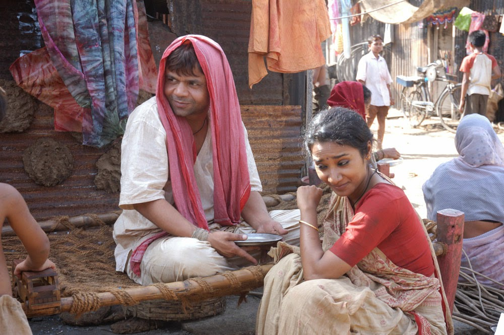 Tannishtha Chatterjee (right) and Rajpal Yadav, in Bhopal: A Prayer for Rain, Directed by Ravi Kumar