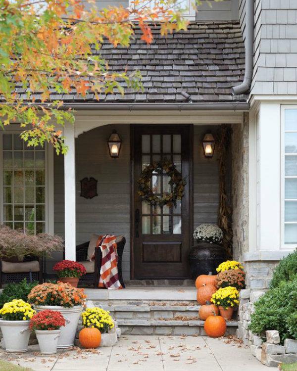 Hgtv Front Door Fall Decorations: Ciao! Newport Beach: October Curb Appeal