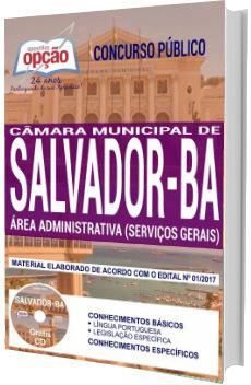 Apostila Concurso Câmara de Salvador 2018 - Área Administrativa (Serviços Gerais)
