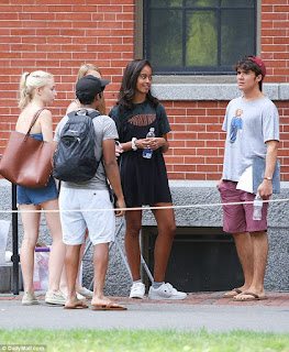 Barack Obama and wife moves Malia to Harvard University