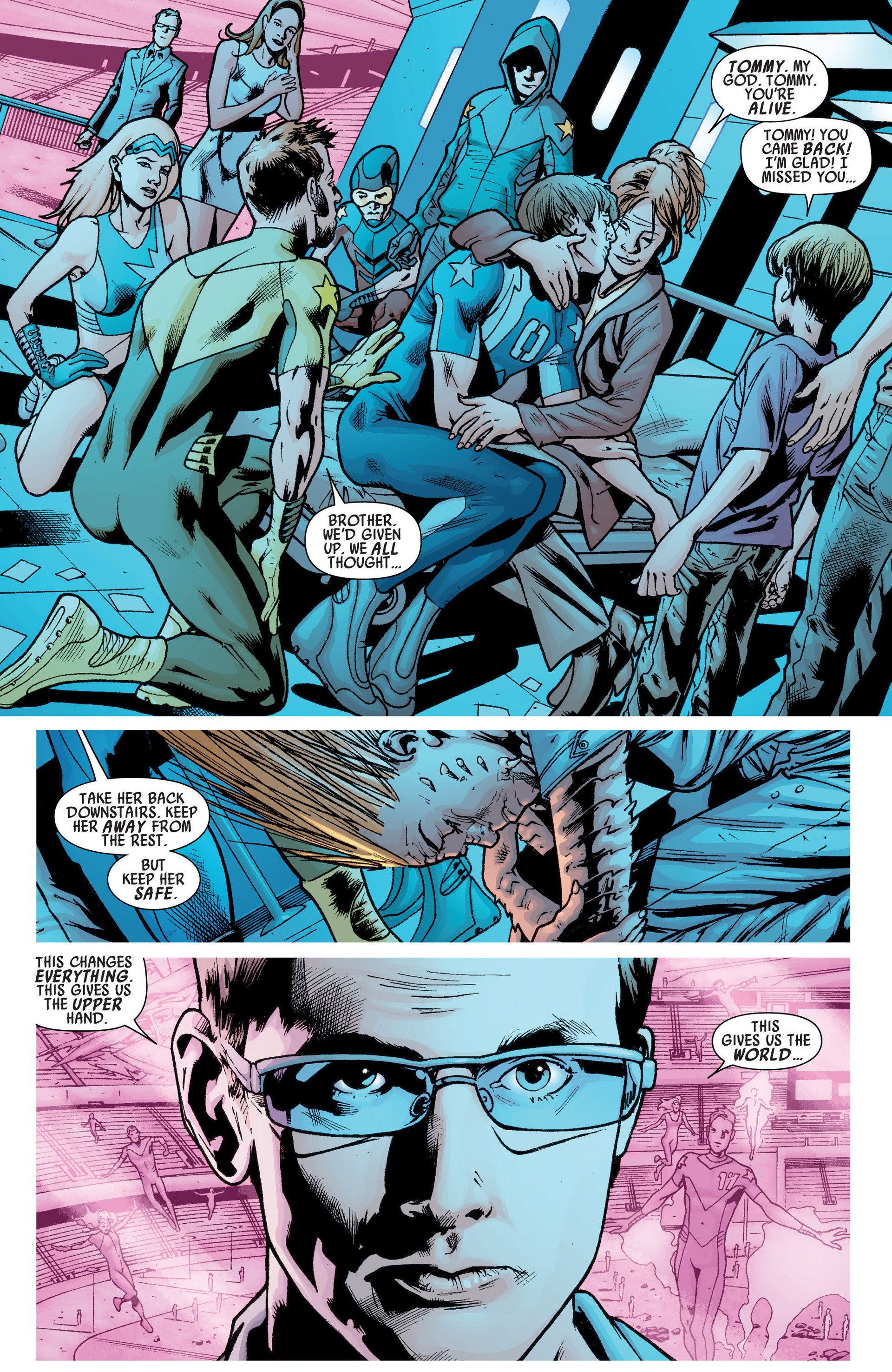 Read online America's Got Powers comic -  Issue #6 - 16