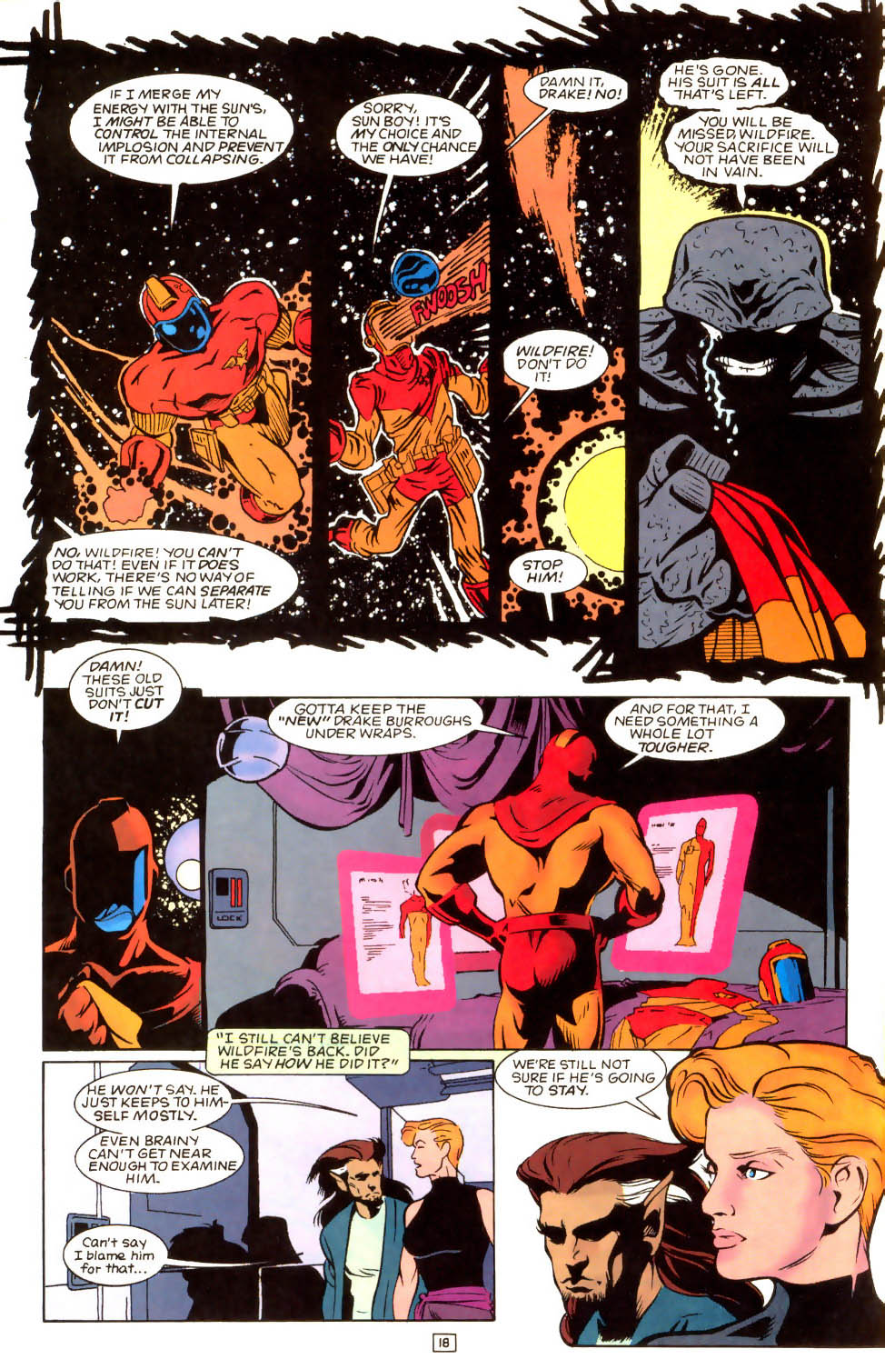 Legion of Super-Heroes (1989) 52 Page 18
