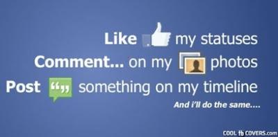 Cara agar status FB banyak yang like dan Comment