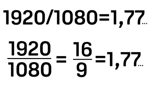 Tỉ lệ khung hình 16:9 và cách tính tỉ lệ màn hình 2