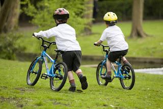 ركوب الدراجة للأطفال