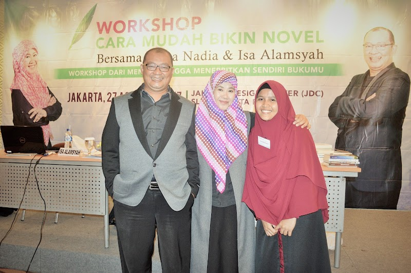 Beasiswa Writing Workshop : 'Cara Mudah Bikin Novel' dari Asma Nadia
