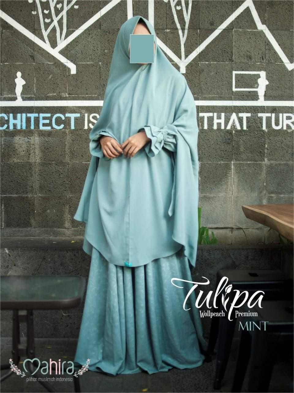 Mahira Tulipa Wollpeach Premium Mint