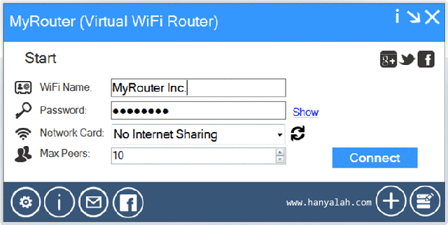 Aplikasi WiFi Virtual Router