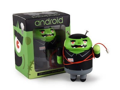 Halloween 2016 Android Mini Vinyl Figure Frank Patches by Andrew Bell