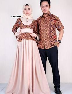 Model Baju Batik Couple Anak Remaja