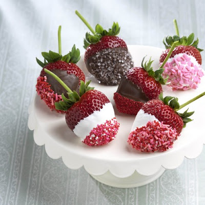 best white chocolate for dipping strawberries