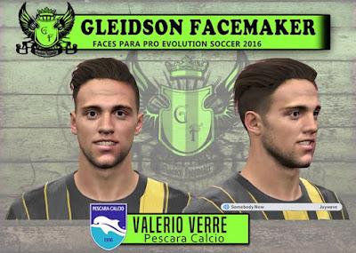 Valerio Verre - Pescara Calcio by Gleidson Facemaker