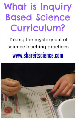 What is Inquiry Based Science Curriculum www.shareitscience.com