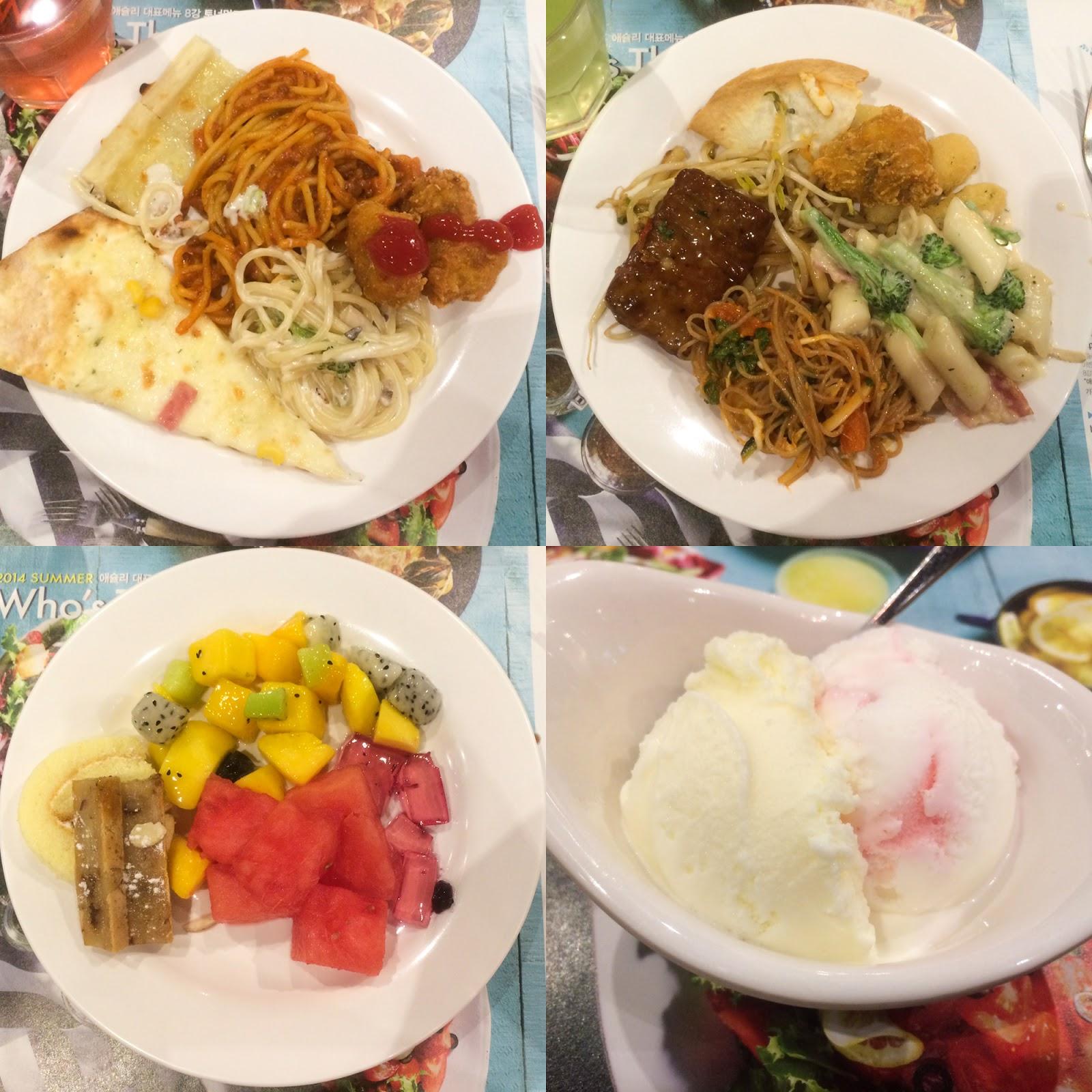 Seoul, Korea - Summer Study Abroad 2014 - Seoul City Touring - Ashley Korean buffet lunch