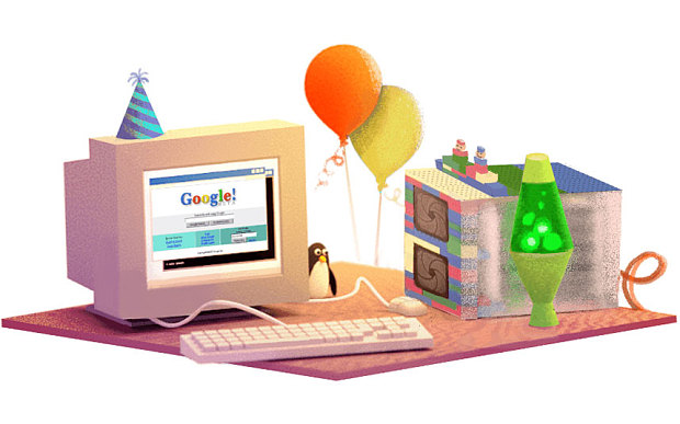 Google's 17th birthday Doodle