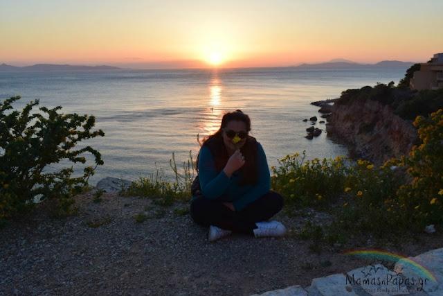 ηλιοβασίλεμα Αθήνα