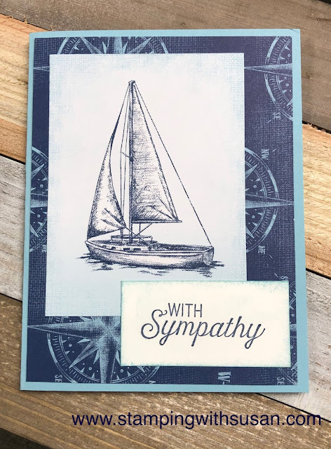 Stampin' Up!, www.stampingwithsusan.com, Come Sail Away, Sailing Home Suite