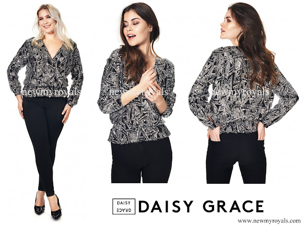 Crown Princess Victoria wore Daisy Grace Look At Me Top - Silver