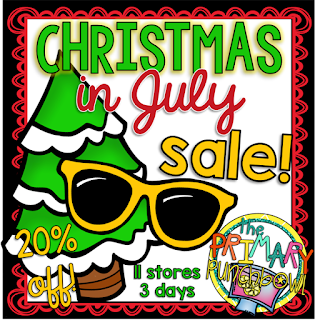 The Primary Punchbowl Christmas in July Sale