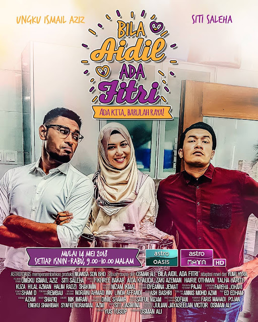 Tonton Online Live Drama Bila Aidil Ada Fitri Episod 14