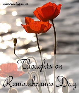 Thoughts on Remembrance Day