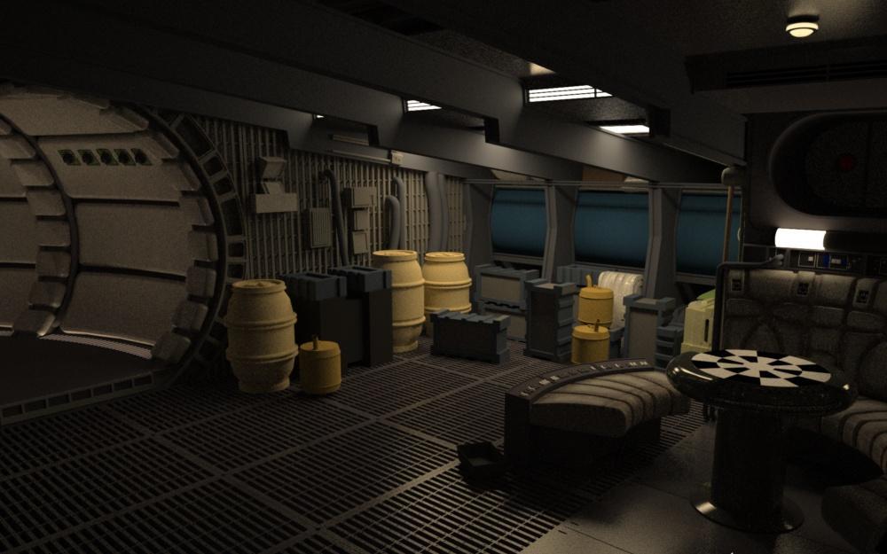 Stinson's All Things Star Wars Blog: Millennium Falcon ...