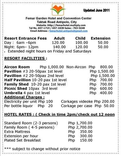 About Femar Garden Hotel Amp Resort Affordable Resort In