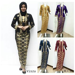 Setelan Baju Gamis Muslim Modern