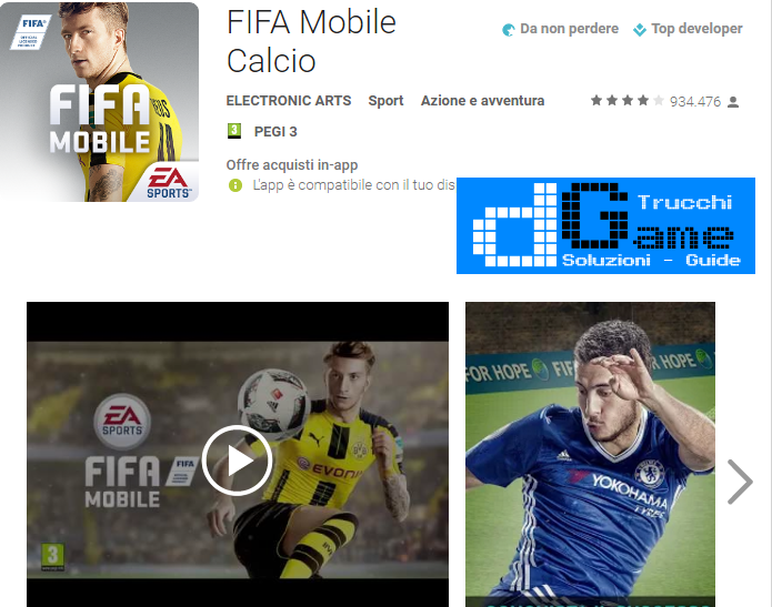 Trucchi FIFA Mobile Calcio Mod Apk Android v3.2.2