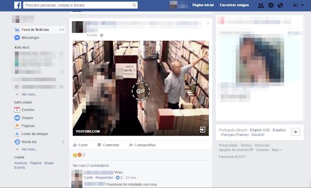 Facebook falso gif