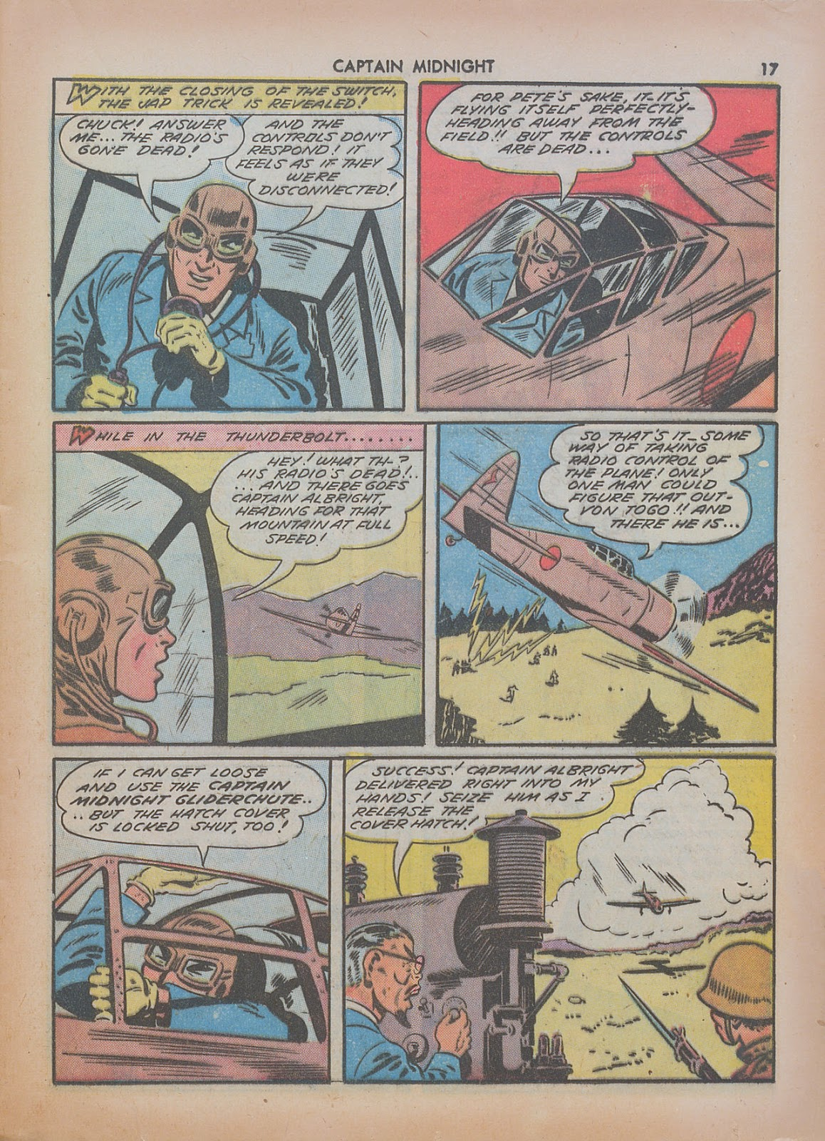 Captain Midnight (1942) issue 7 - Page 17