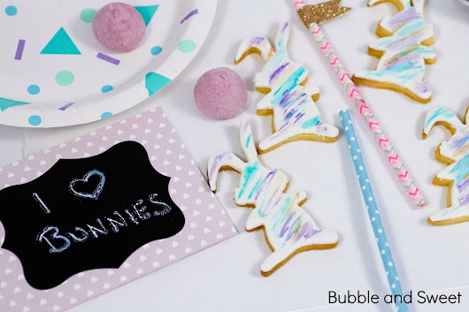 I love bunny cookies or how to make squiggly cookies