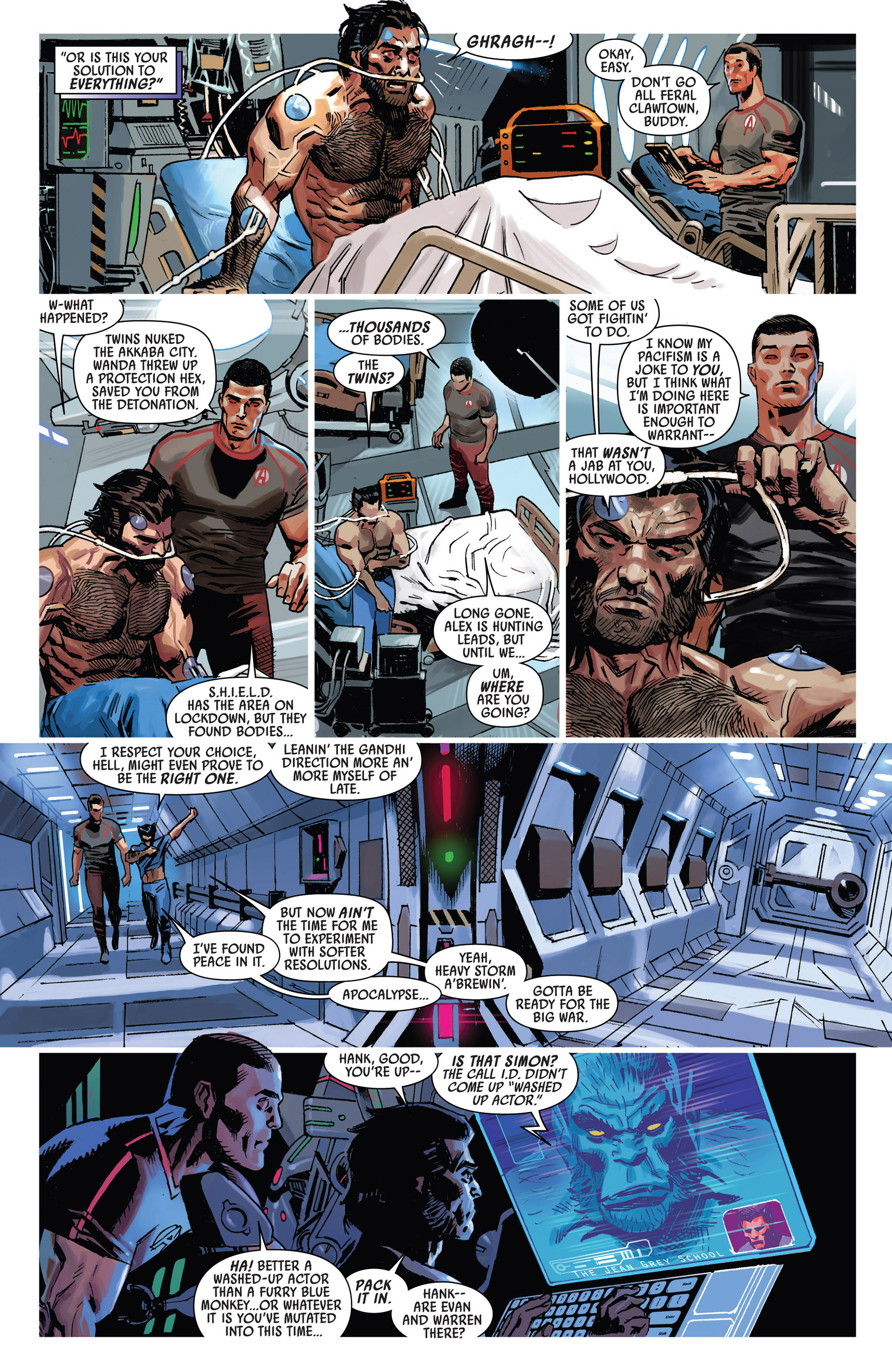 Read online Uncanny Avengers (2012) comic -  Issue #9 - 4