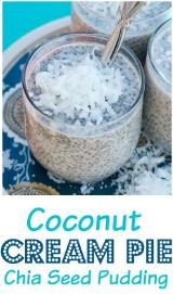 Chia Seed Coconut Cream Pie Pudding