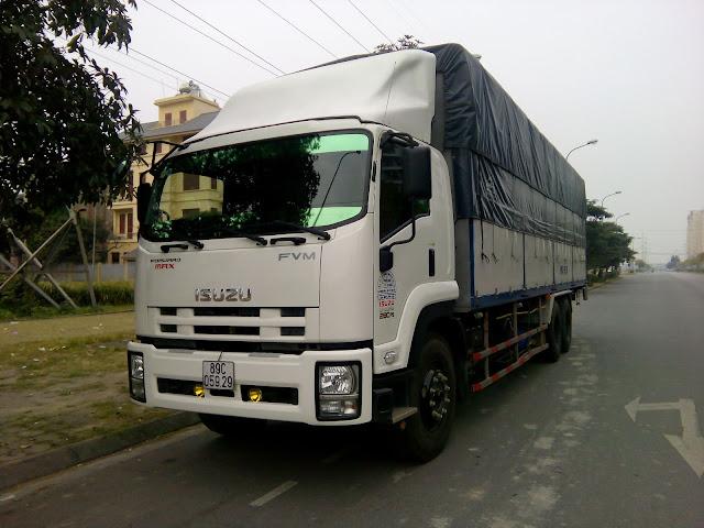 ISUZU 15 tấn thùng bạt
