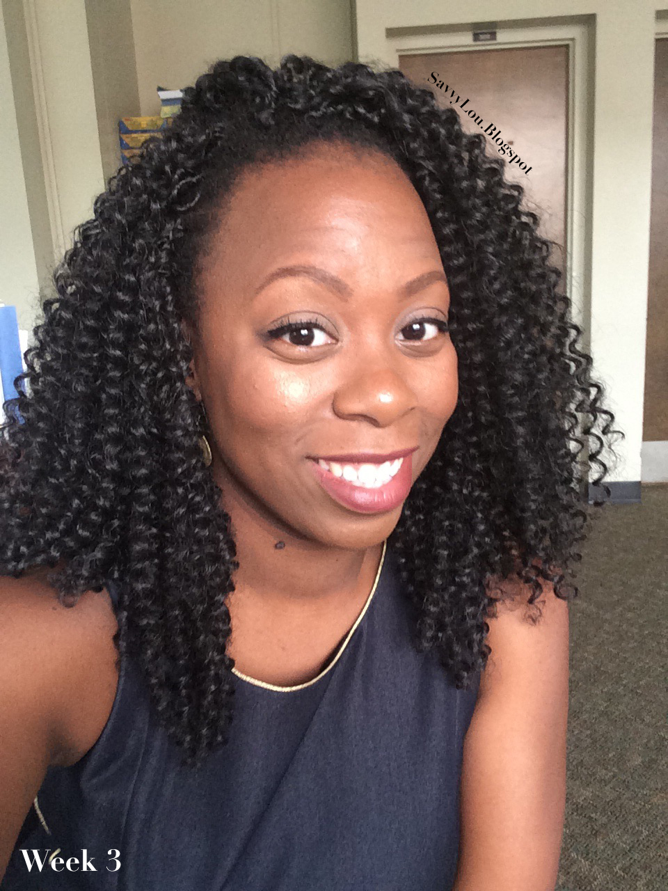 My Favorite Protective Style Freetress Water Wave Crochet