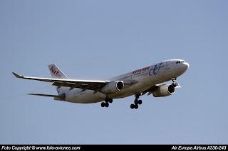 Airbus A330 EC-LMN