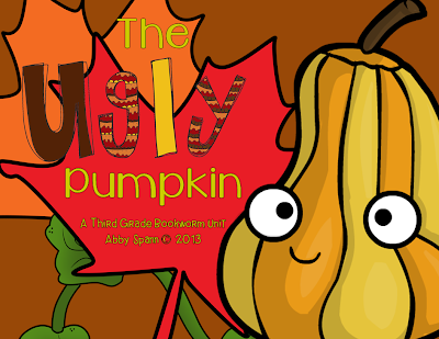 http://www.teacherspayteachers.com/Product/The-Ugly-Pumpkin-A-Common-Core-Book-Companion-968618
