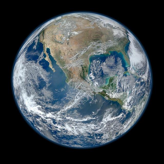 Ini Bukti Foto Bumi Dari Luar Angkasa Adalah Asli Bukan Gambar CGI Kreasi NASA ?