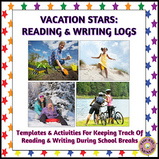 Vacation Stars resource for reading and writing tasks during school vacations | The ESL Connection