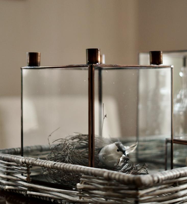 Blog + Fotografie by it's me - Bunt ist die Welt, Kerzenständer aus Glas und Kupfer