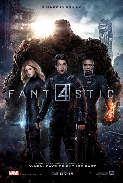 Fantastic Four: Poster Nou