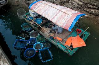 pueblo flotante de Hoa Cuong Vietnam