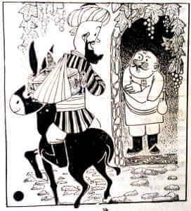 মোল্লা নাসিরুদ্দিন হোজ্জা এর হাসির ঘটনার ছবি