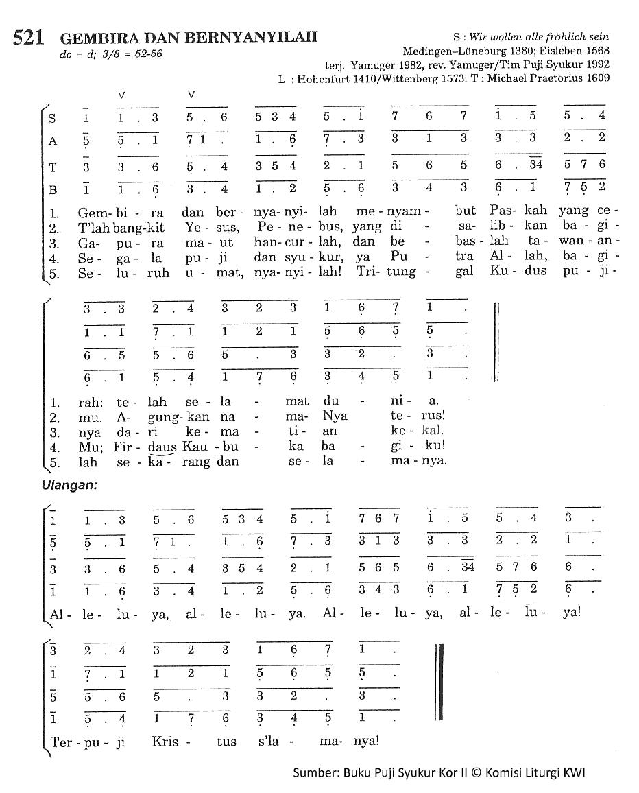 Dan Bernyanyilah Chord : bernyanyilah, chord, Chord, Gembira, Bernyanyilah, Madah, Rohani, Lyric, Christian