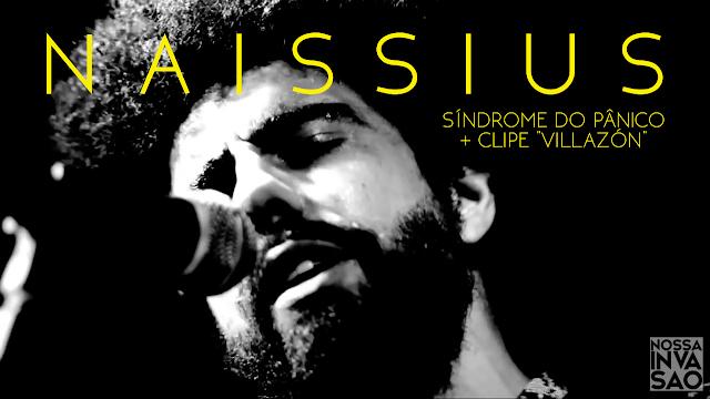 """NAISSIUS lança disco -  """"Síndrome do Pânico"""""""
