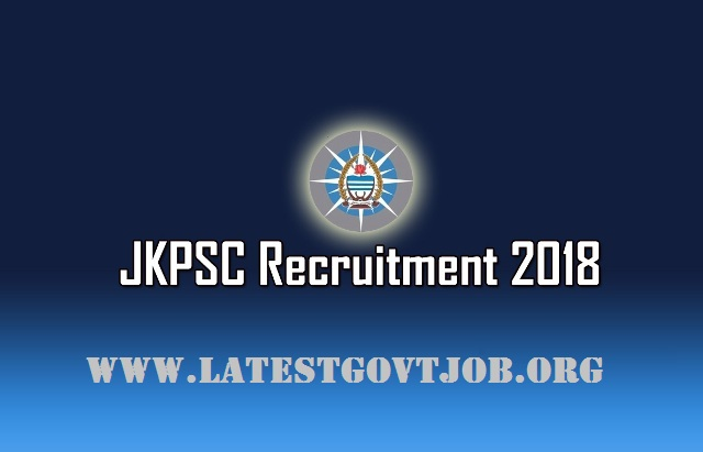 JKPSC Recruitment 2018 for Medical Officer 39 Vacancies | Apply Online @www.jkpsc.nic.in