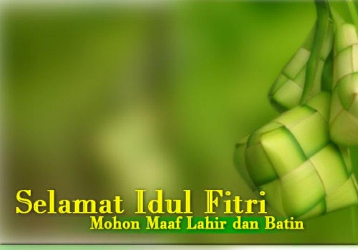 Gambar Kartu Ucapan Lebaran Idul Fitri 1437 H 2016