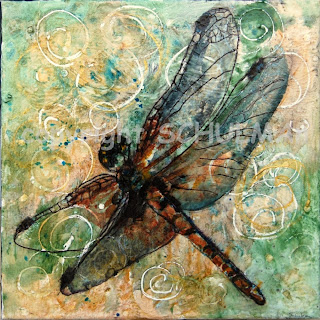 dragonfly art | discover more dragonfly decor on http://schulmanart.blogspot.com/2011/12/soar-with-dragonflies.html green